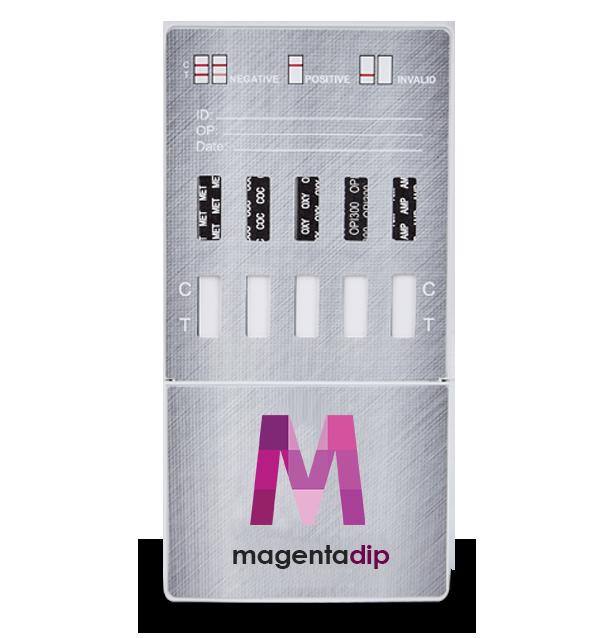 10 Panel Drug Test Dip Card