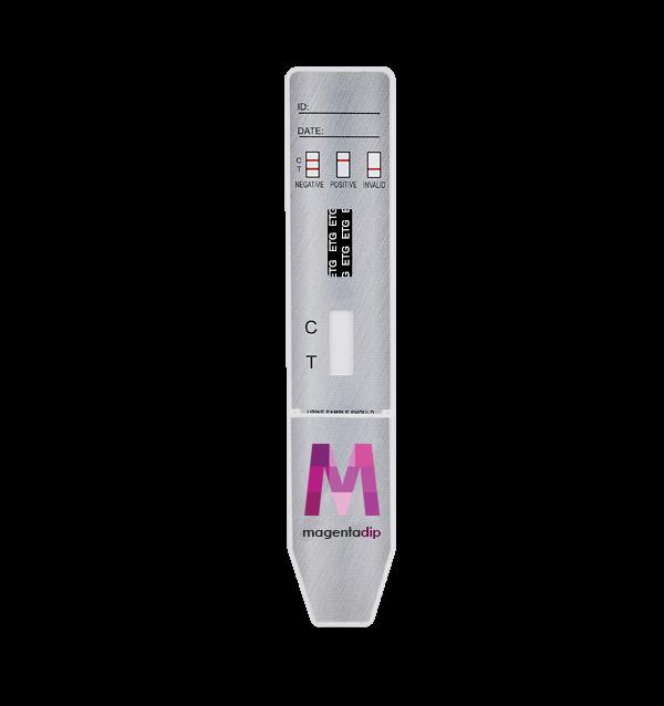 ETG Alcohol urine test Magenta Dip Card
