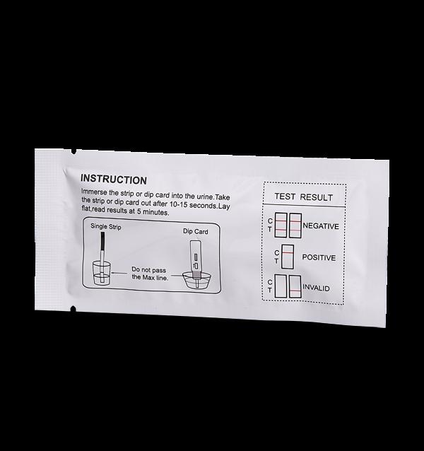 Fentanyl Urine Test Magenta Dip Card Instructions