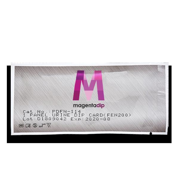 Nicotine Cotinine Drug Test Dip Card package