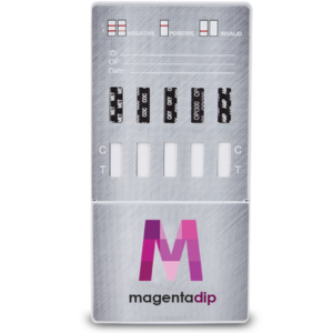 12 Panel drug test dip card