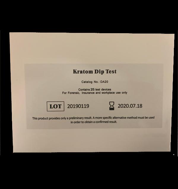 Kratom Drug Test Dip Card box
