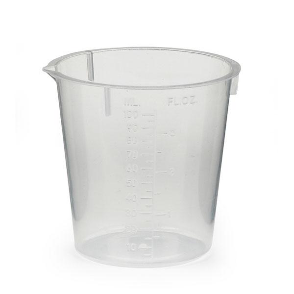 Urine test collection beaker