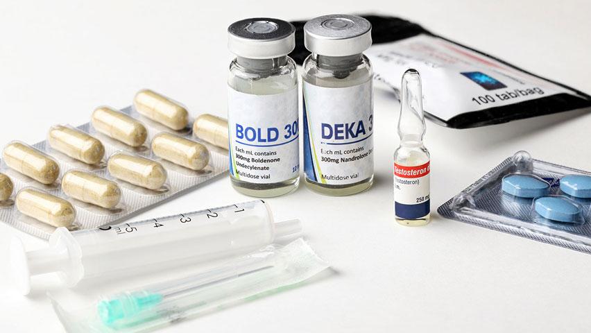 Steroids urine test